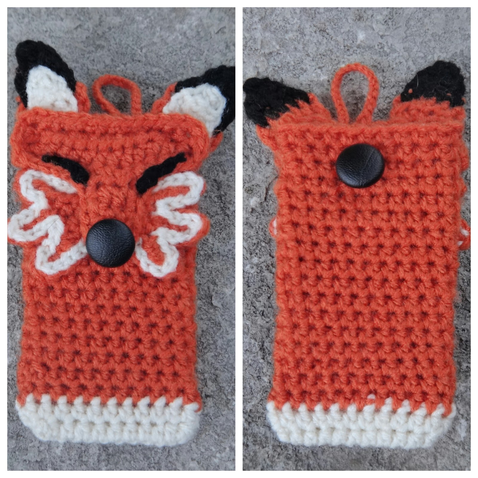 Free Crochet Pattern For I Phone Case : Grandma Swills Handcrafted Knits: Handmade Crocheted ...