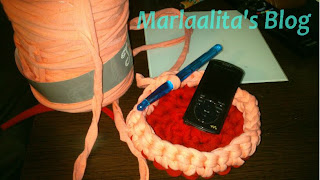vacía bolsillos, trapillos, ganchillo xxl, crochet xxl