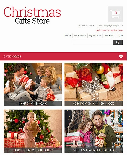 Christmas Gifts Magento Theme