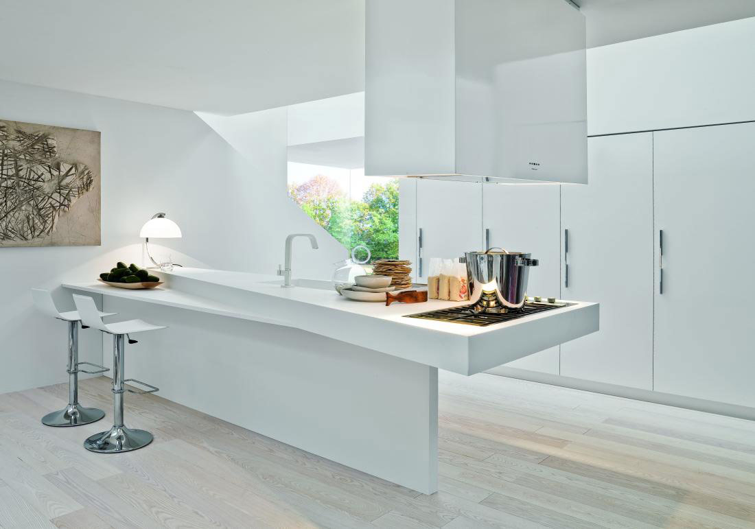 caprichosa encimera de cocina cocinas con estilo