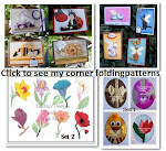 Corner folding patterns for sale