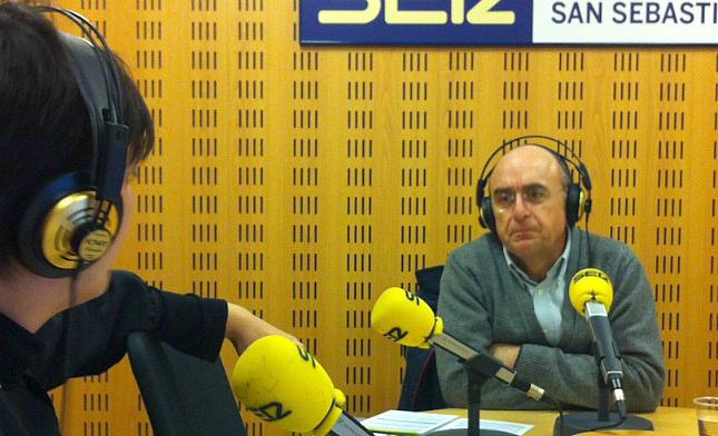 José Manuel Ladrón de Guevara, gerente del Hospital Universitario Donostia, entrevistado en 'Hoy por Hoy San Sebastián'
