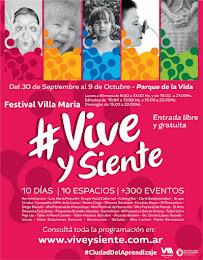 del 30/9 al 9/10 (Villa María, Córdoba, Arg.)