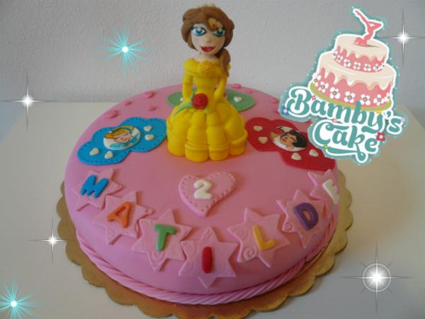 Bamby 39 S Cake Torte Personalizzate Bella E La Bestia Cake