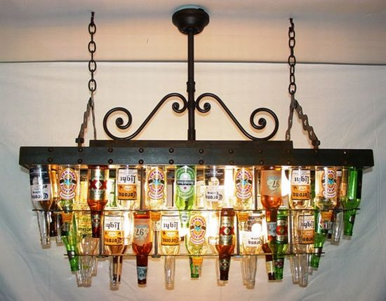 Beer Bottle Art Projects http://www.cocoinmagnolia.com/2013/03/chandies-chicas-chandies.html