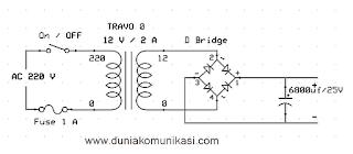 tegangan simetris adaptor ct