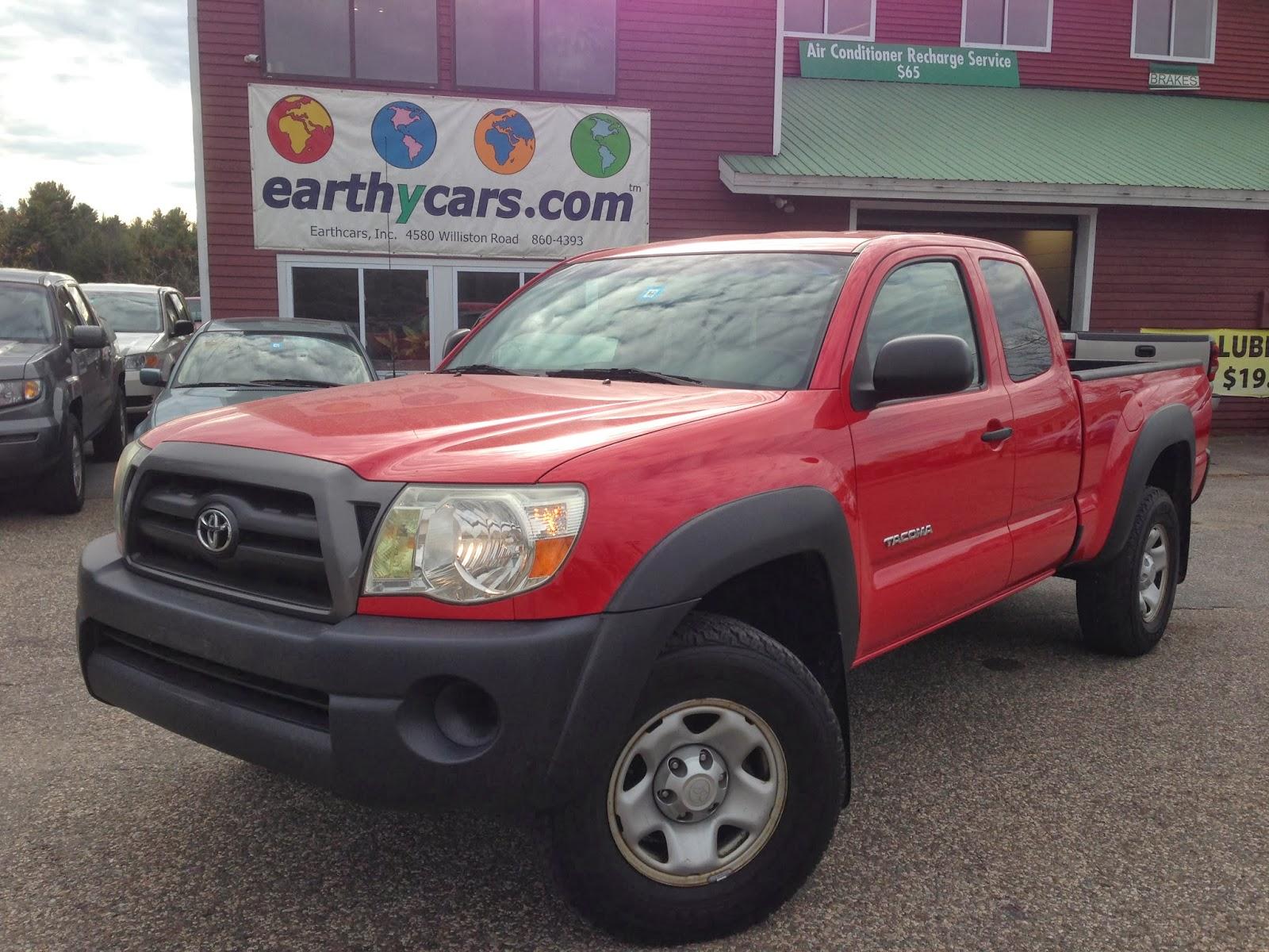 2007 Toyota Tacoma SR5, Red, Truck, 108695 Mi, $13,995 Http://bit.ly/IfGUBv  4WD, 5 Spd Manual, MPG U003d 17/22