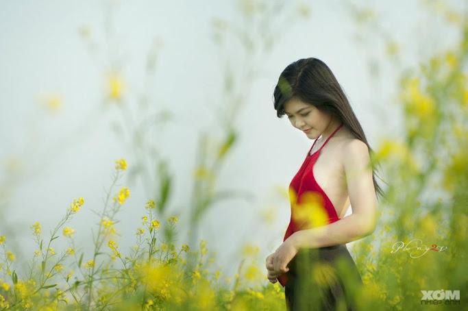Girl xinh với áo yếm xưa 24