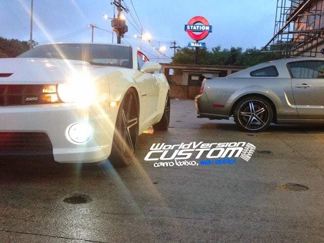 "#FanPage: Camaro de 24"" ou Mustang nas 22""... ???"