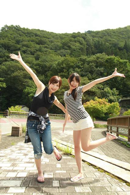 Amatsuka Moe 天使もえ, Sakura Yura さくらゆら Twitter Photos 04