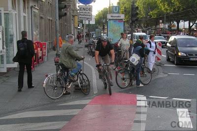 Rad fahren in Kölns Innenstadt