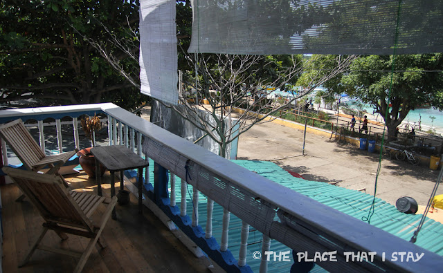 Indonesia - Lombok - Gili Trawangan - Le Petit Gili - The balcony