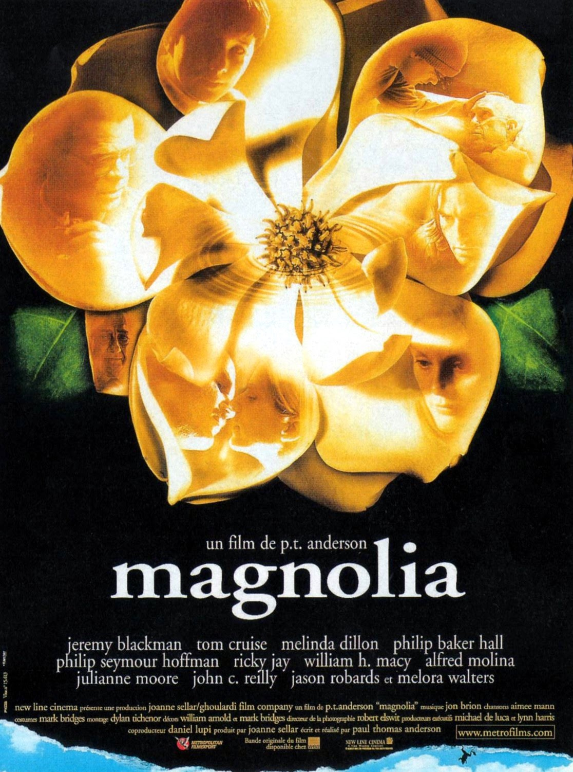 magnolia dir paul thomas anderson 1999 discreet charms magnolia french poster via carteles peliculas click the poster for a larger image