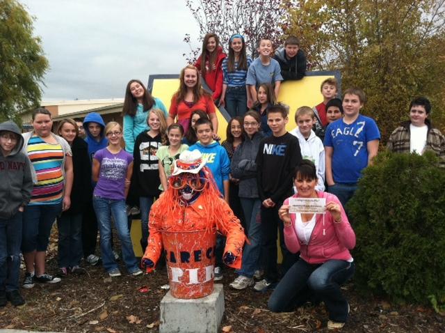 3rd Place Scarecrow Contest Results Coleman Homes News