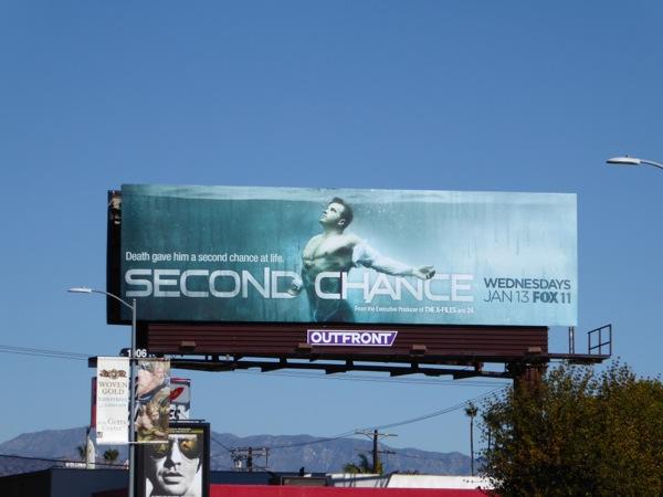Second Chance series premiere billboard