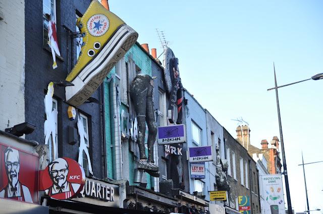 Camden Town Market giant Converse shoe