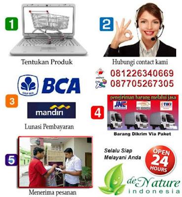 Cara Order Pemesanan De Nature Indonesia
