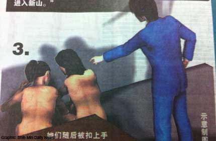 Malaysians Must Know the TRUTH: 2 S'porean women stripped & made ...
