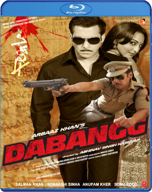 Dabangg 2010 Hindi BluRay 480p 350mb ESub