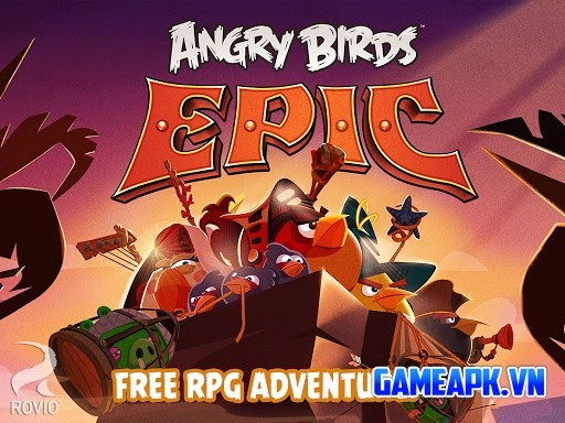 Angry Birds Epic v1.2.7 hack full tiền cho Android