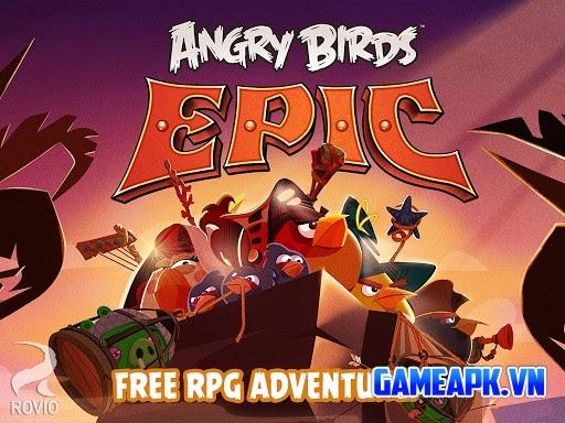 Angry Birds Epic v1.0.12 hack full tiền và đá quý cho Android