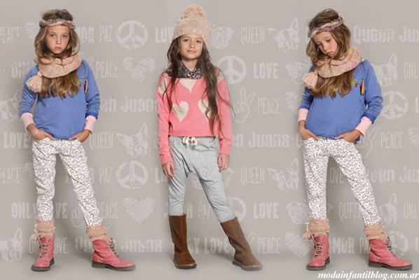 queen juana invierno 2013 ropa para niñas