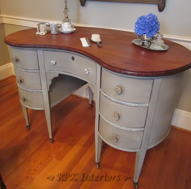 http://rpkinteriors.blogspot.com/2013/07/kidney-shaped-vanity-in-french-linen.html
