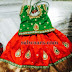Huge Work Blouse and Lehenga