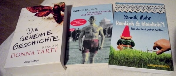 Bücher von der Frankfurter Buchmesse 2014