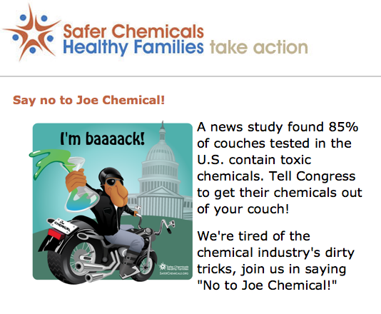 "We Need Your Voice to Help Stop Joe Chemical in His Tracks. Will You Join Me in Saying ""No"" to Joe?"