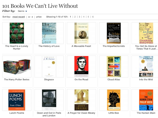 85 Great Books to Keep You Busy from Now On