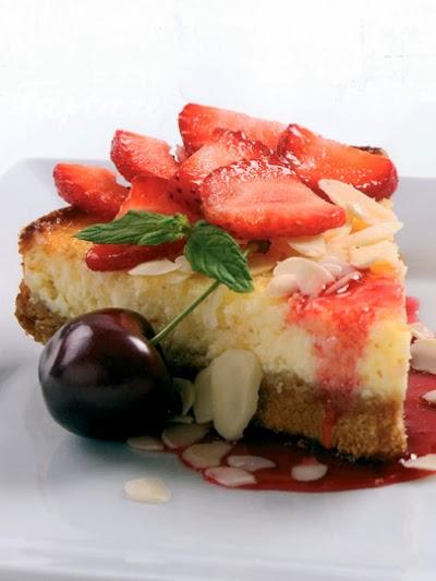 Vanilya aromalı votka cheesecake