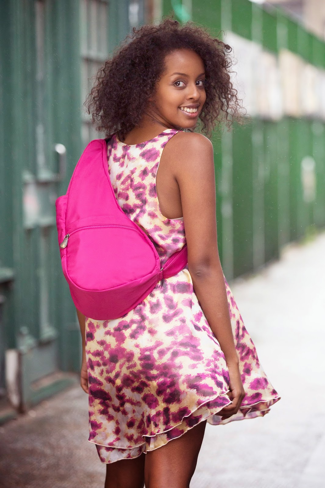 Healthy Back Bag Microfibre Hot Pink