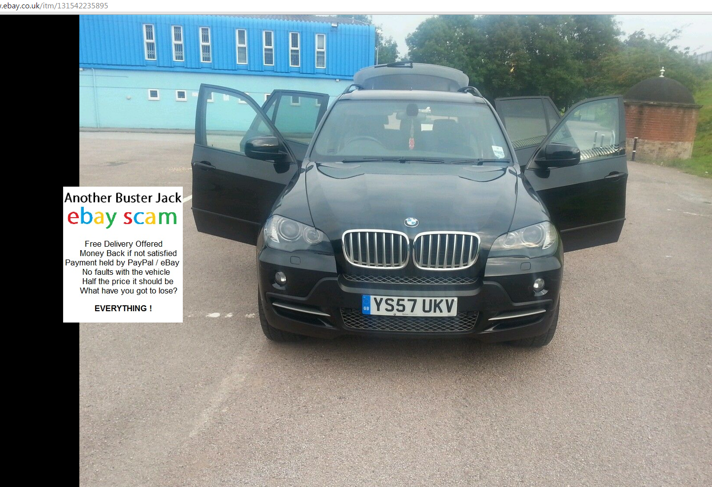 Bmw X5 On Ebay Uk Scam bmw x5 30d auto sport full ac schnitzer body ...