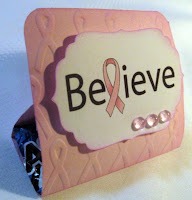 Believe table favor by Betty
