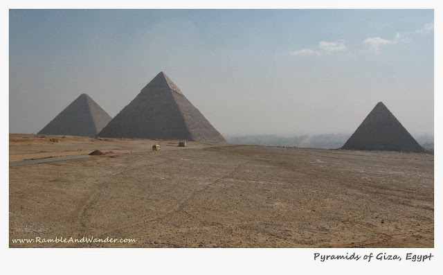 The Great Pyramid of Giza, Egypt | www.rambleandwander.com