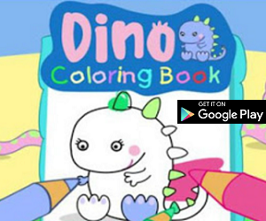 Android App of the Month - Dino Coloring Book