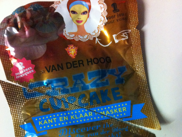 Dr. VAN DER HOOG crazy cupcake masker.