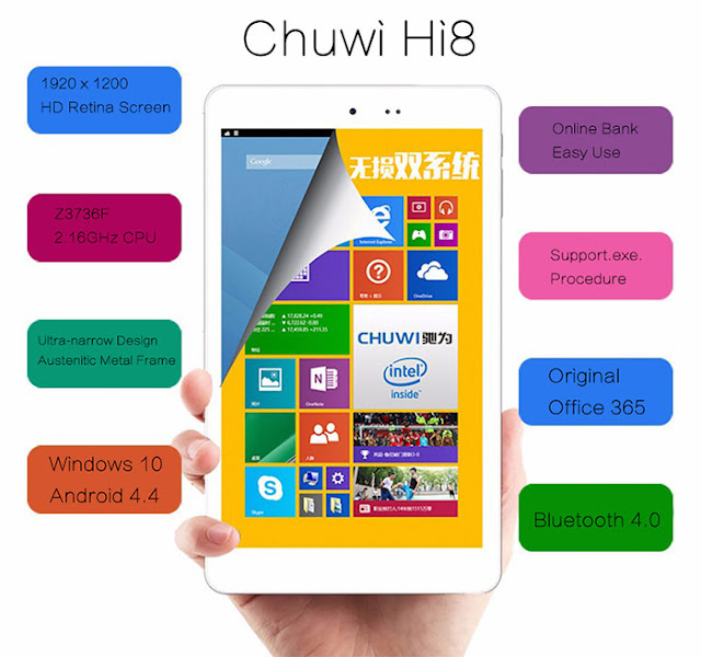 advice best tablet under 100 Euros Chuwi hi8