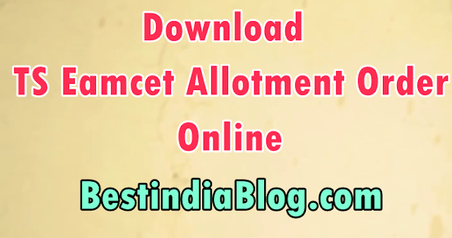 ts eamcet allotment order download