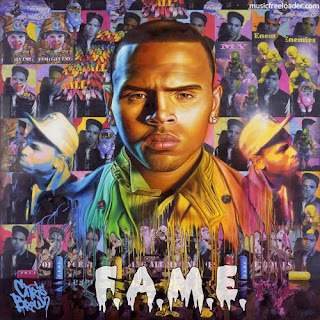 Chris Brown Fame Album Cover on Album Review  Chris Brown   F A M E    Social Writers    We Dream  We