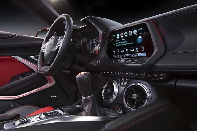 2016 Chevrolet Camaro Inside
