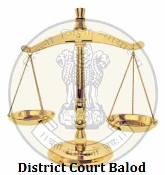 Assistants, Stenographer & Peon Vacancies in District Court Balod