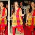 Aarthi Agarwal Yellow Salwar