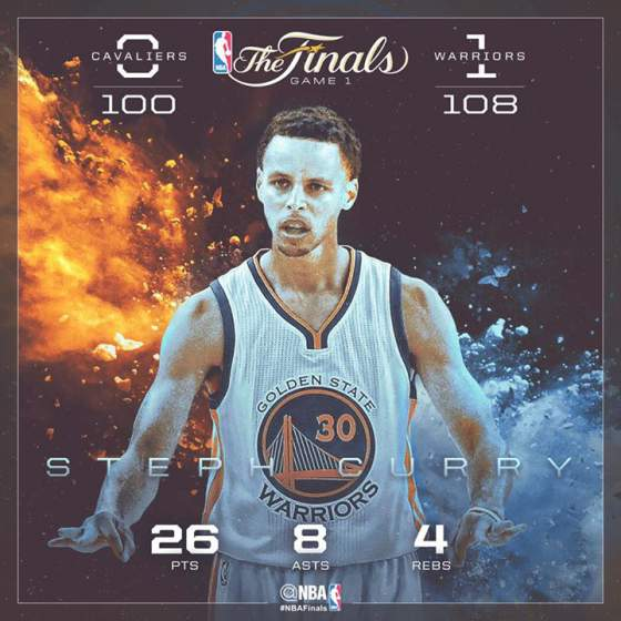 Highlights: Warriors beat Cavaliers in overtime in Game 1 of 2015 NBA Finals (+Mini-movie ...