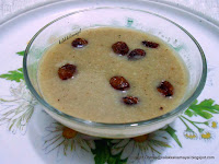 Thinai [ Foxtail Millet ] Payasam with Coconut