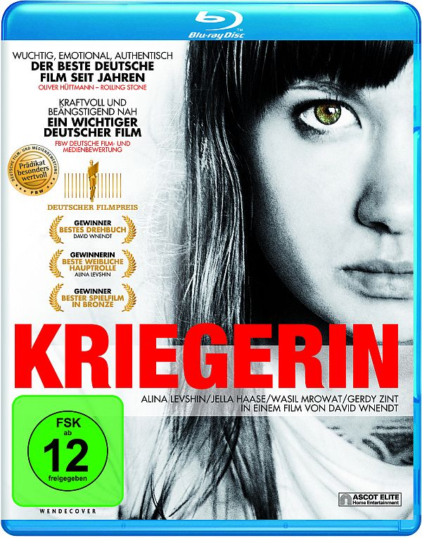 Kriegerin Blu-ray Cover