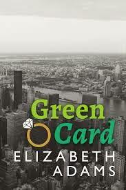 Book Cover - Green Card by Elizabeth Adams