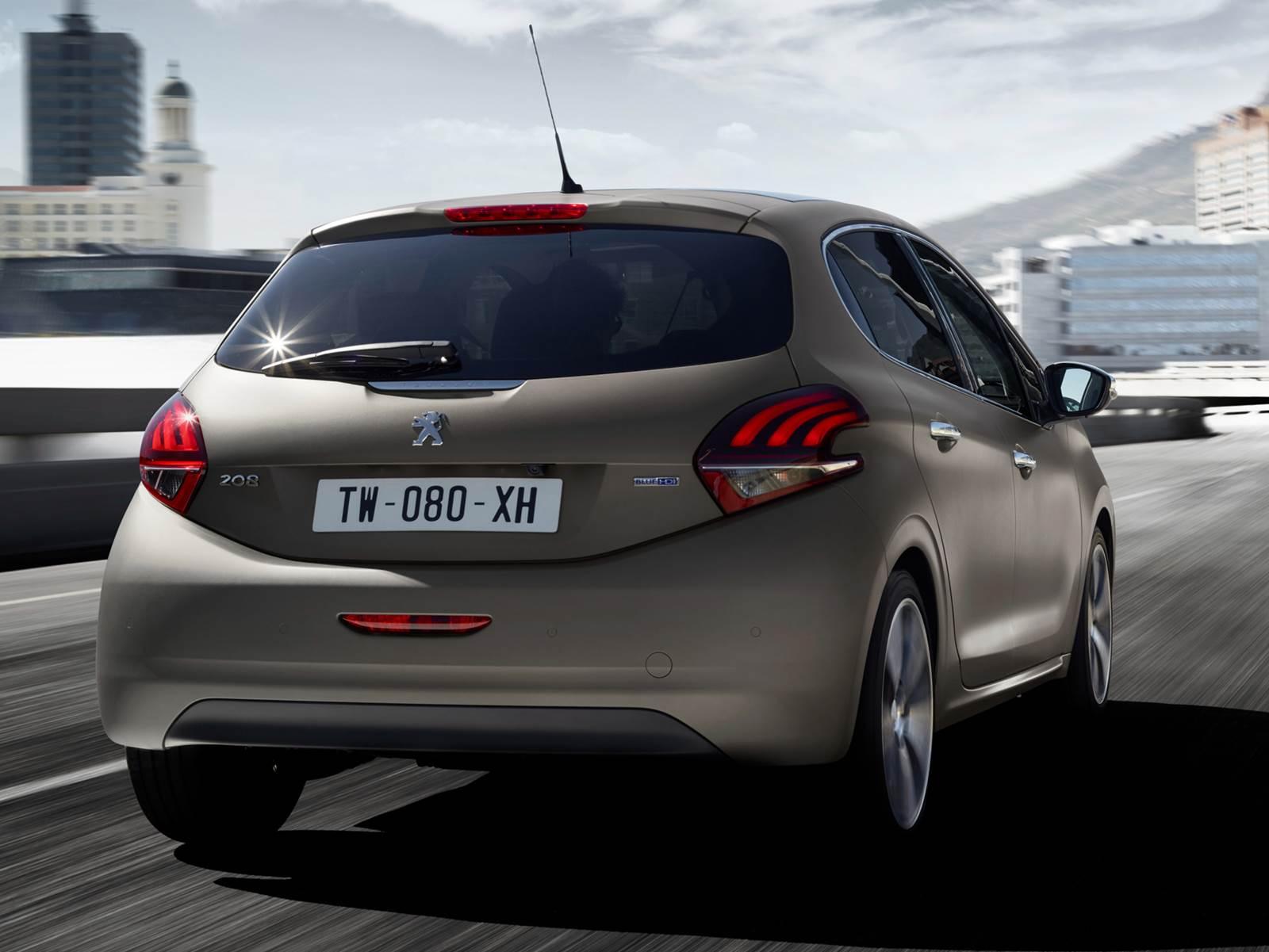 Novo Peugeot 208 - Ice Silver - fosco
