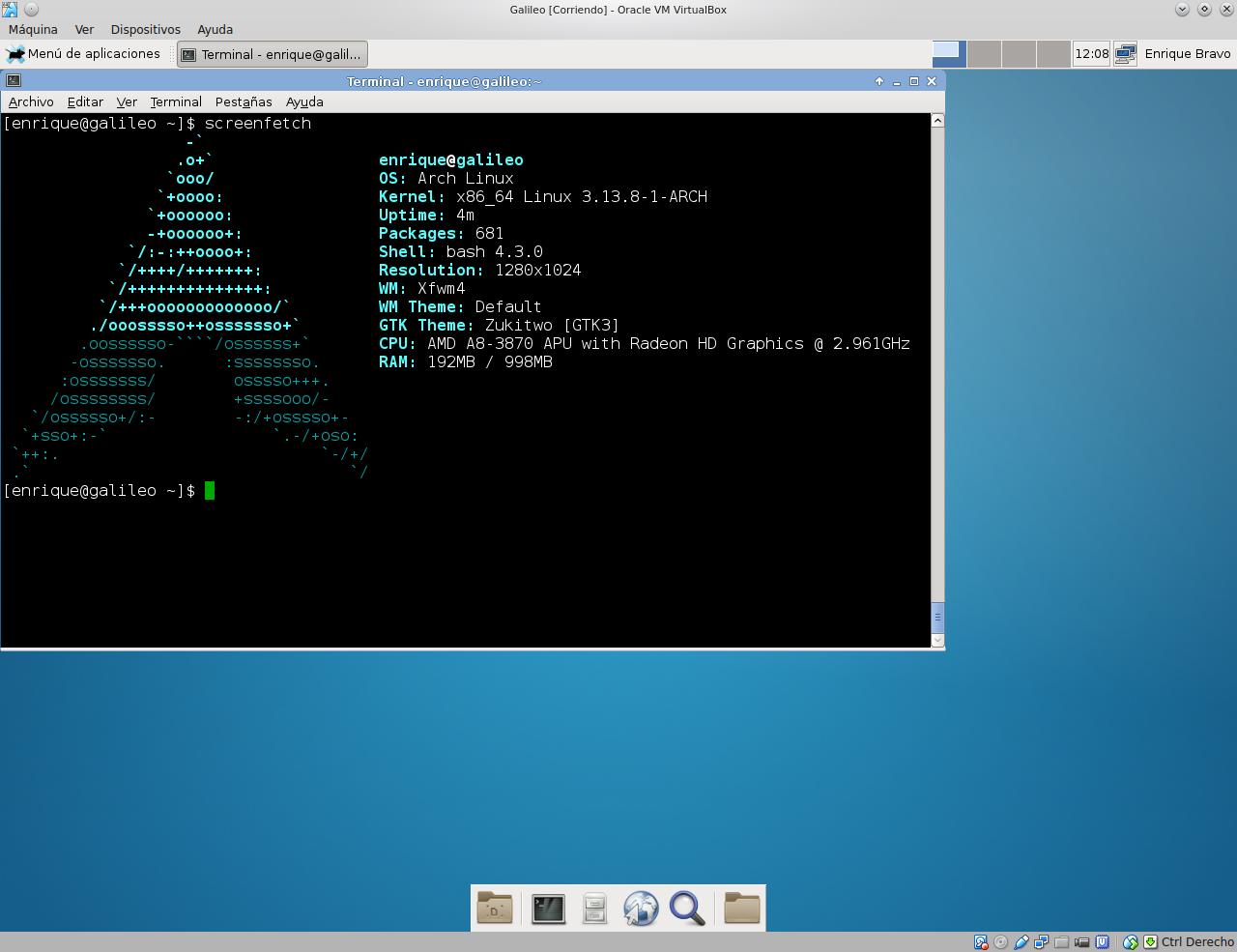 Evo  Lution Linux (Arch linux con instalador grafico)   Taringa!